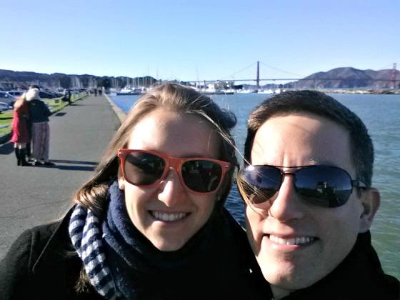 Nathan Brittany Golden Gate Bridge San Francisco California