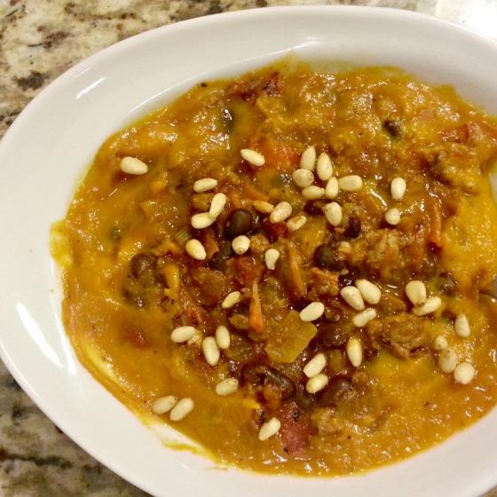 Roasted Butternut Squash Sweet Potato Soup Smokey Chicken Wing Chili