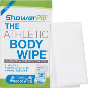 ShowerPill Athletic Body Wipe