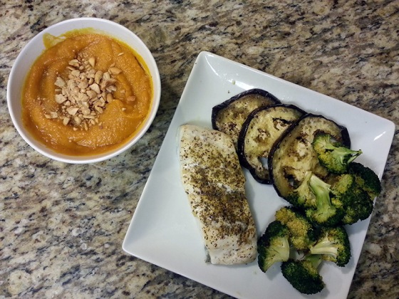 Sizzlefish Haddock Roasted Butternut Squash Sweet Potato Soup