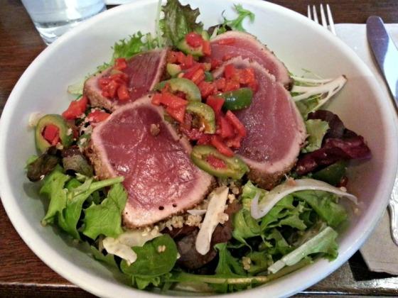 Southie Ahi Tuna Salad