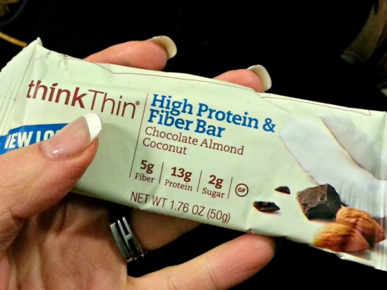 Think Thin High Protein Fiber Bar Chocolate Almond Coconut