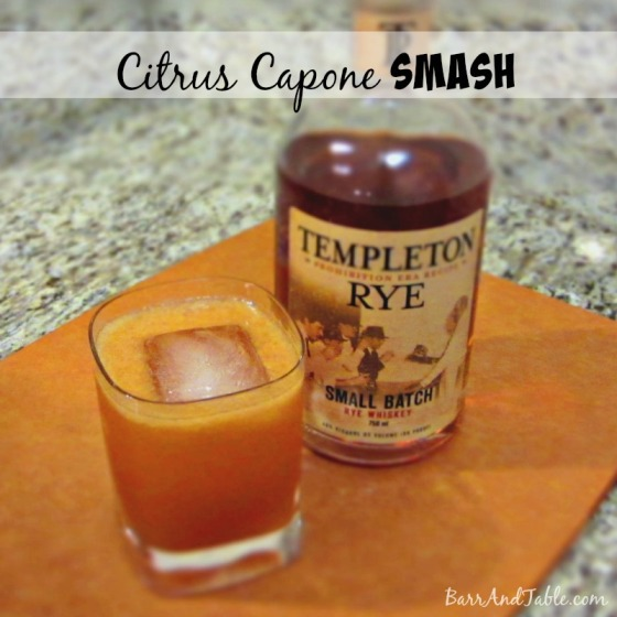 Citrus Capone Smash | Barr & Table