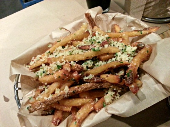 Farm Burger Garlic Fries