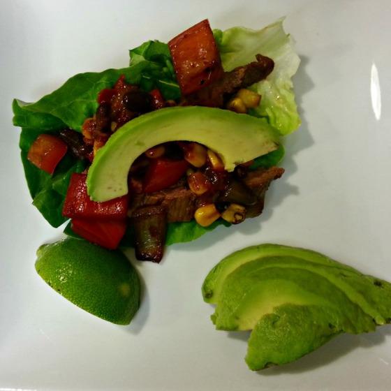 Flank Steak Lettuce Wrapped Tacos