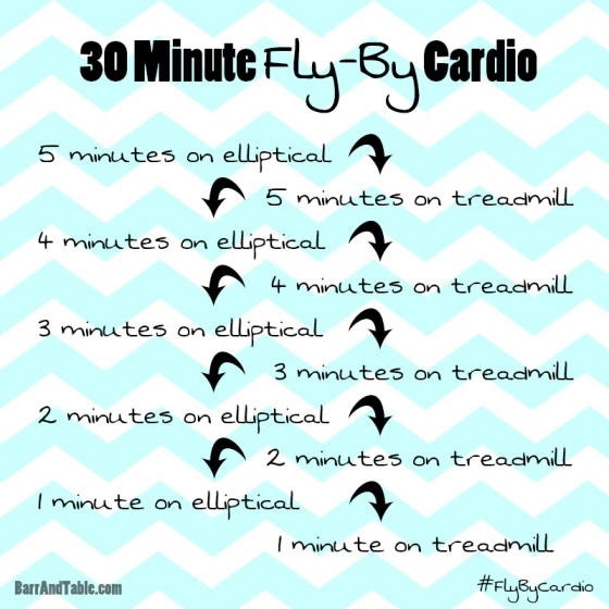 30 Minute Fly-By Cardio