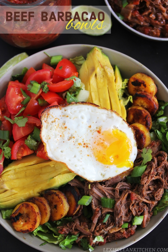 Beef Barbacao Bowls Lexis Clean Kitchen
