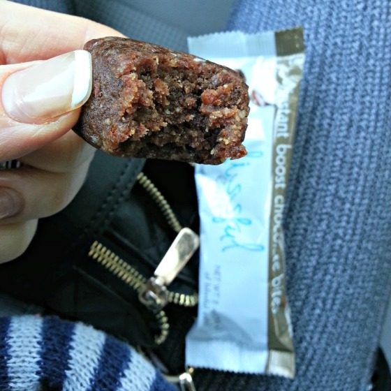 Blissful Eats Instant Boost Chocolate Bites
