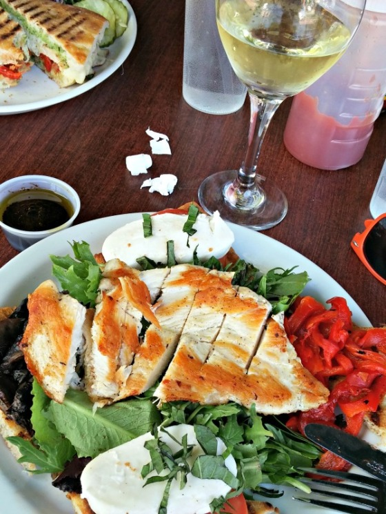 Cafe Trieste White Wine Margherita Salad Chicken