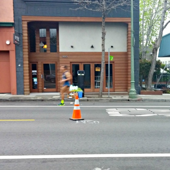 Oakland Marathon First Runner