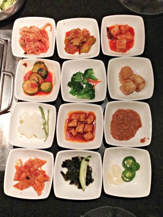 Ohgane Korean BBQ Banchan