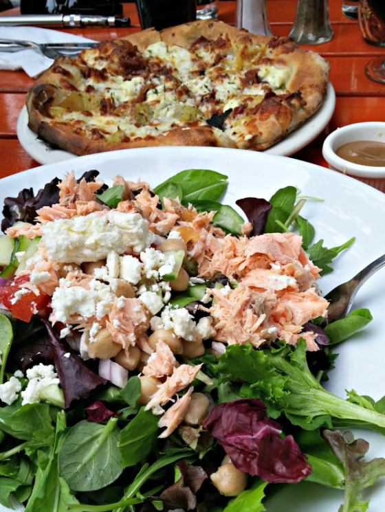 Salmon Salad Xanthia Pizza Jupiter Berkeley