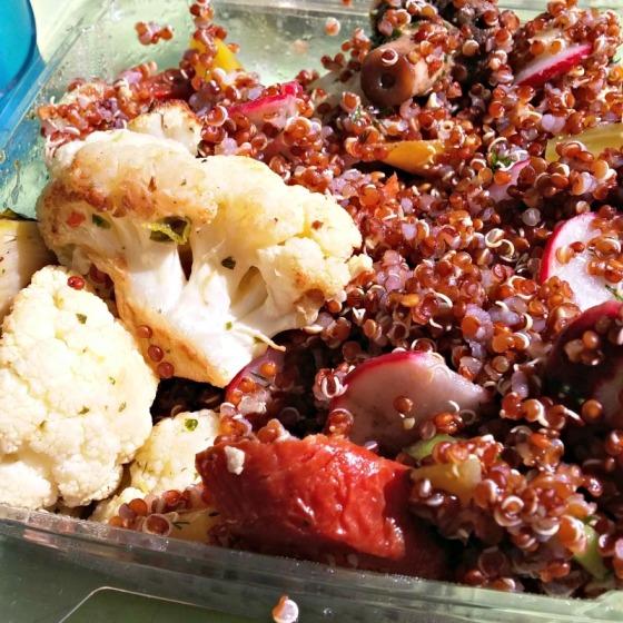 Tender Green San Francisco Roasted Vegetables Quinoa