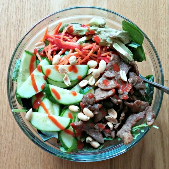 Vietnamese Pork Salad Bowl