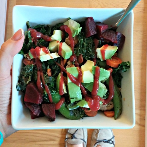 Kale Carrots Beets Avocado Sugar Snap Peas Turkey Ketchup