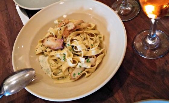 Pizzaiolo Oakland Tagliatelle Pasta Porcini Mushroom Anniversary