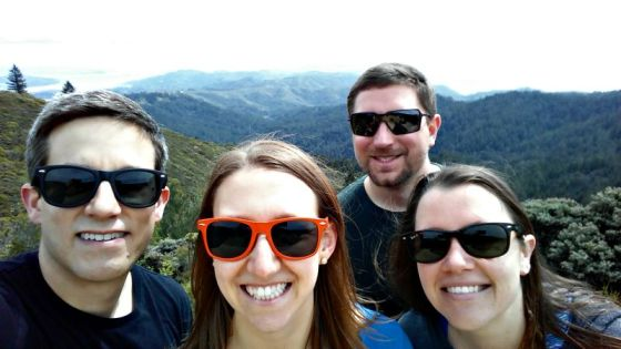 Nathan Erin Don Brittany Mt Tam